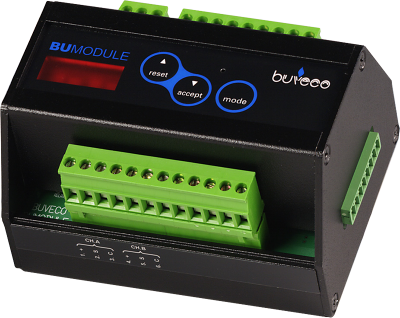 Buveco BuModule gasdetection system