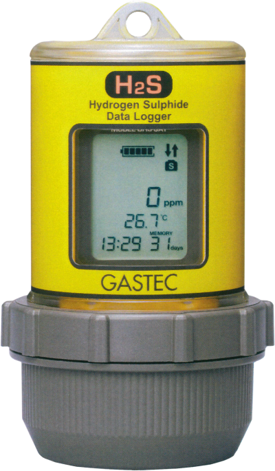 Buveco Gastec H2S datalogger HHS-8AT-EX